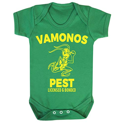 Breaking Bad Vamonos Pest Baby Grow korte mouw