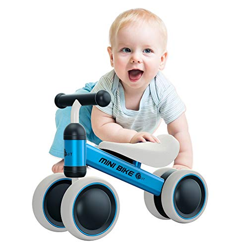 YGJT Baby Balance Bikes Bicycle Baby Walker Rides Toys for 1 Year Boys Girls 10 Months-24 Months Baby