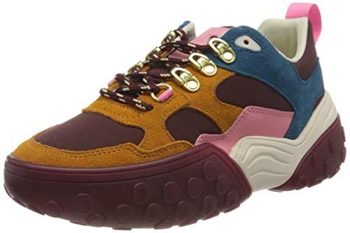 SCOTCH & SODA FOOTWEAR (SCPGH) Belva, Zapatillas Mujer, Bordo Multi, 38 EU