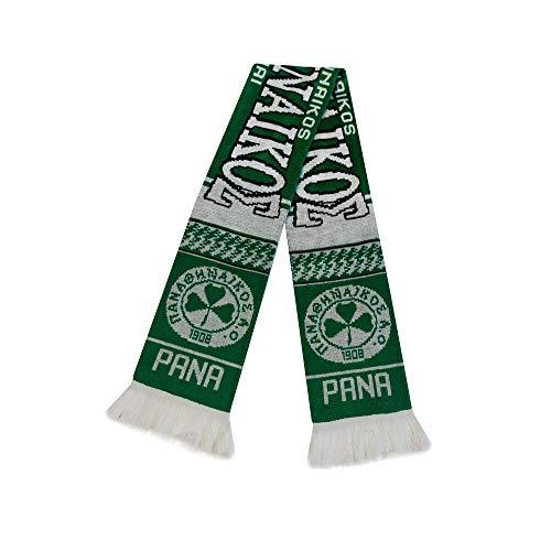 Panathinaikos Scarf   Premium Soccer Fan Scarf   Soft Acrylic Knit