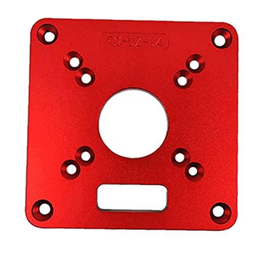 accesorios para herramientas Power Board router Insertar tabla placa de aluminio universal RT0700C máquina del ajuste del tirón