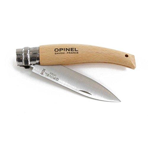 Opinel 254123 Taschenmesser, Buchenholz, One Size