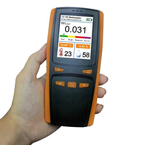 NAIXUE 2020 Newest Handheld Portable Ozone Analyzer O3 Ozone Meter Gas Detector Intelligent Sensor Ozone Meter for Air Quality Pollution Monitor DM509-O3,Air Quality Pollution Monitor