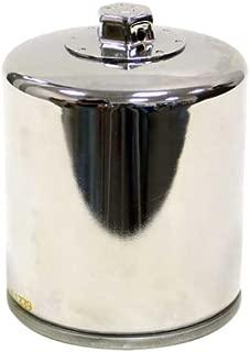 K&N KN-174C Harley Davidson High Performance Oil Filter, Chrome