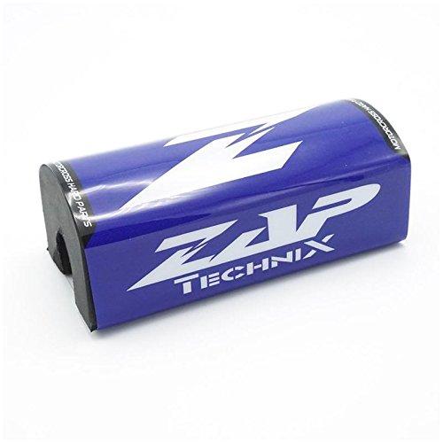 ZAP Motocross Enduro Lenkerpolster FX Blau/Weiß Fatbar 28,6mm