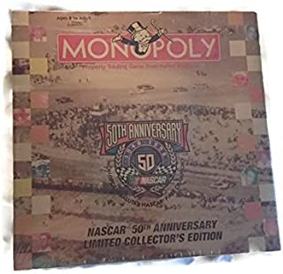 NASCAR 50th Anniversary Limited Collector's Edition Monopoly Game 1948 - 1998
