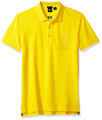 Hugo Boss Herren World Cup Soccer Country Polo Shirt Poloshirt, brasilien, 3X-Groß