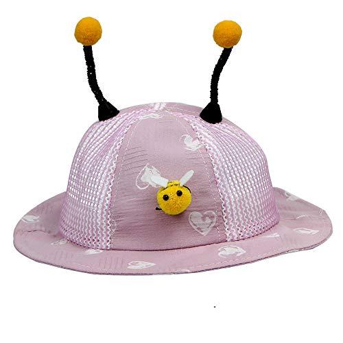 YDXC Sombrero De Cubo Lindo Orejas De Abeja Sombrero Bebé Cubo Unisex Niños Sombrero De Sol Sombrero Sombrero Look Lleno De Espiritualidad Y Encantador Cuando Se USA Aplicar A Correr Viajes Etc-PP