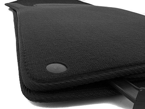 Tapis de sol pour mercedes classe c w203 s203 original tapis de qualité velours 4 parties noir