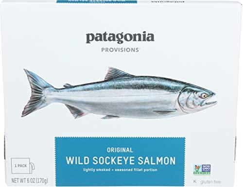 PATAGONIA PROVISIONS Original Wild Sockeye Salmon, 6 OZ