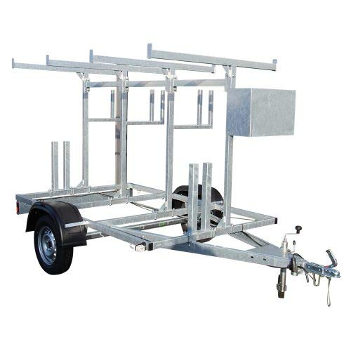 Alumexx Basic Carrier Steigeraanhanger - Steiger - Aanhanger - Aluminium - Rol- Steiger - Bouw - Steiger - Vervoer - RDW/TÜV goedkeuring - Hollands Fabricaat