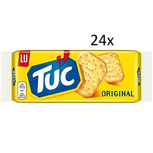 24x TUC Original Kekse Salzgebäck Cracker Classic 100g biscuits cookies Knabbereien
