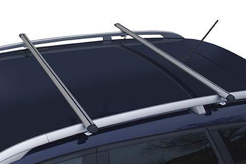 Barres de toit en aluminium 135 cm.
