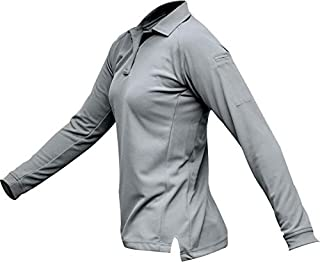 Vertx Women's Coldblack Long Sleeve Polo Shirt