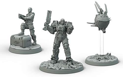 Fallout Wasteland Warfare Brotherhood of Steel Cade & Danse Box