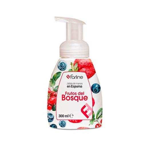 Jabón de manos en espuma Farline Frutos del Bosque 300 ml (Frutos del Bosque)