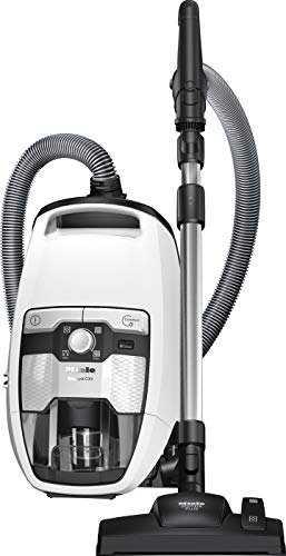 Miele Blizzard CX1 Efficiency Ecoline Bodenstaubsauger (ohne Beutel, 2,5 Liter Staubbeutelvolumen, 700 Watt, 11 m Aktionsradius, inkl. HEPA-Filter für Allergiker) weiß