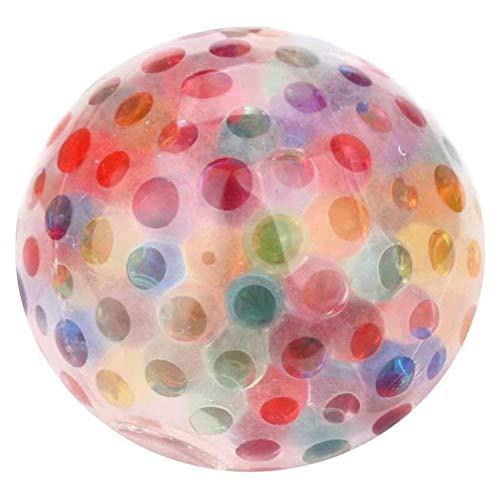 Bolas antiestrés, juguete para apretar, bolas para el estrés sensorial, bola elástica suave para aliviar el estrés, juguete para aliviar la ansiedad, juguete sensorial para niños autistas adultos