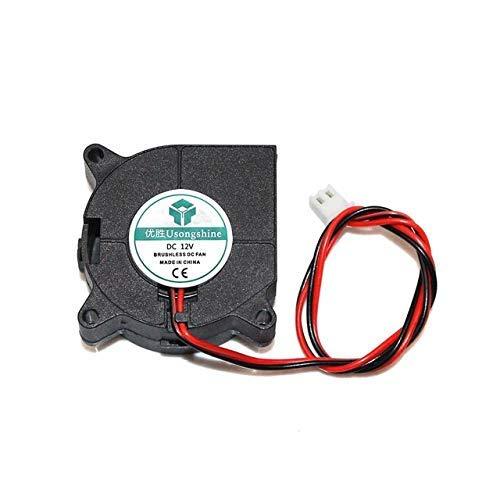 Accesorios de impresora 40x40x20mm 4020 Ventiladores 5/12/24 voltios Ventiladores de CC sin escobillas para disipador de calor Radiador de refrigeración para piezas de impresora 3D Ventilador de refri