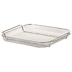 Air fryer replacement crisping basket for Emeril Everyday Emeril Lagasse Power AirFryer 360 S-AFO-001, Emeril Lagasse Power AirFryer 360 Plus S-AFO-002 Mesh construction insert works in combination with rapid air crisp circulation for even crisping o...