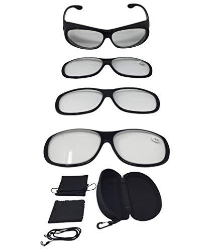 BALLSHOP 160/% Vergr/ö/ßerungsbrille Lupenbrille Zauberbrille Lupe Optische Vergr/ö/ßerung Etui