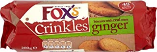 Fox's Ginger Crinkles Biscuits