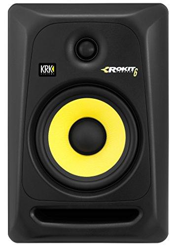 KRK ROKIT 6 G3 6' 2-Way Powered Studio Monitor, (Discontinued), Black, 6-Inch (RP6G3-NA)