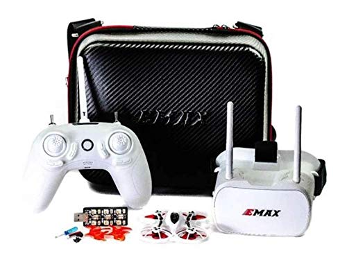 7. EMAX Tinyhawk RTF Indoor Racing Drone with FPV Goggles and Controller for Beginners