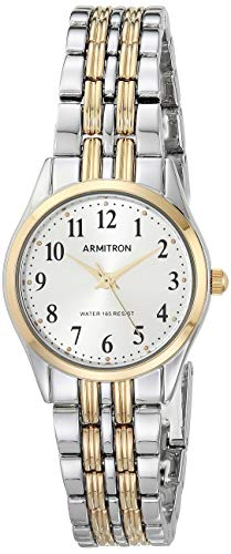 Best Easy to Wear Watches for seniors - Armitron Women's Easy to Read Watch, 75/5304