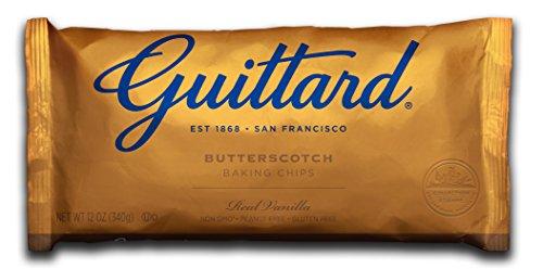 Guittard Chocolate Baking Chips, Butterscotch, 12 Ounce (Pack of 12)