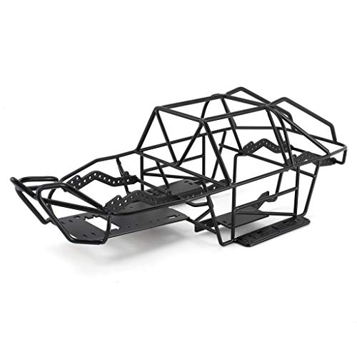 Andifany Metal Chassis Metal Body Cage Full Tube Frame for 1/10 RC Tracked Vehicle Axial SCX10 II 90046 90047 Upgraded Parts