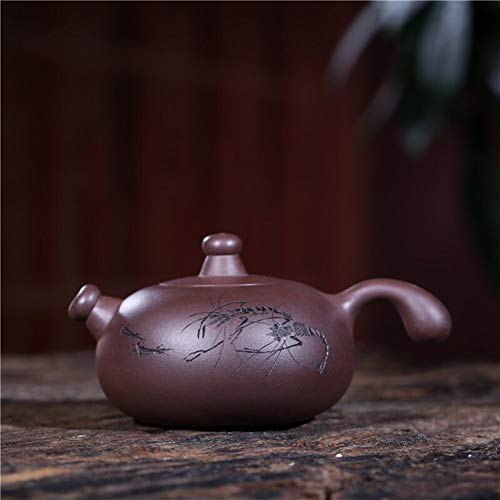Find Bargain Chinese teapot Feast abode possession teapot purple clay ore old teapot original design...
