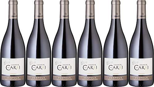 6x Ventoux Seigneur du Carri 2017 - Weingut Demazet Vignobles, Vallée du Rhône - Rotwein