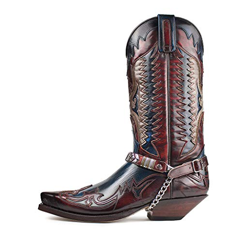 Sendra Boots 3840 Cuervo H.Rojo-H.Ducados-42