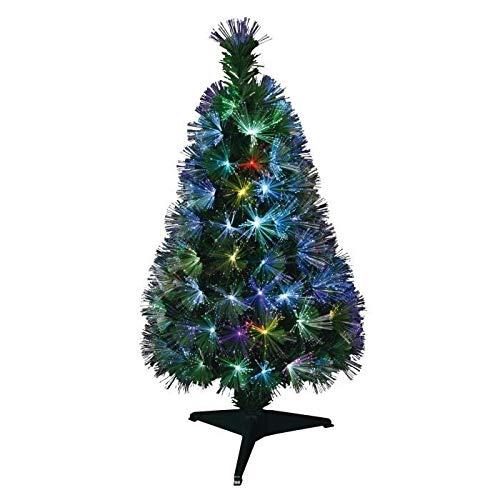 Um Mitternacht 5saf165mc Weihnachtsbaum New York Glasfaser mit 170Leuchtmittel LED Kunststoff/PVC Mehrfarbig