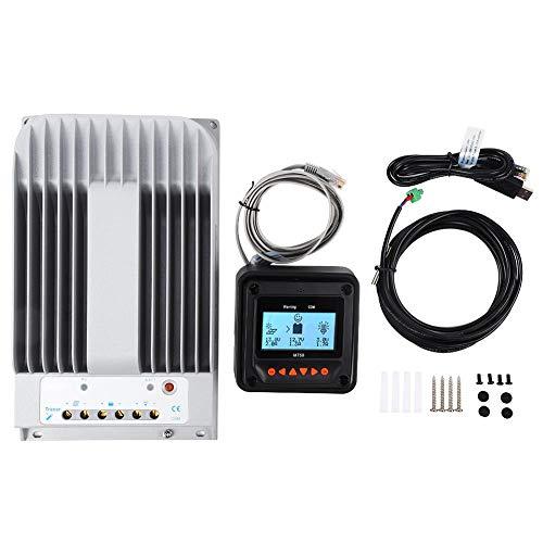 40A 12V / 24V MPPT Solarpanel Laderegler Batterieladegerät Intelligenter Regler Überstromschutz 4215BN + MT50 + PC Kabelsatz