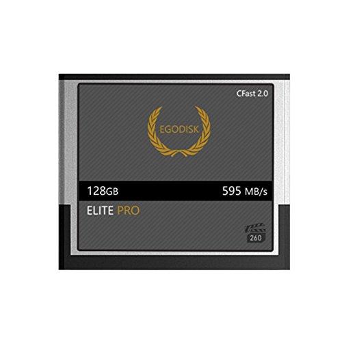 EgoDisk Elite PRO 128GB CFast 2.0 Card - (EOS 1DX Mark II | EOS C200 | EOS C300 Mark II | EOS C700 | XC10 | XC15)
