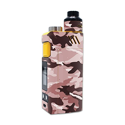 MightySkins Skin Compatible with iJoy RDTA Box 200W – Brown Camo | Protective, Durable, and Unique Vinyl Decal wrap Cover | Easy to Apply, Remove, and Change Styles | Made in The USA