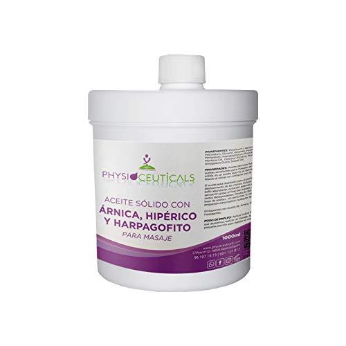 aceite solido con árnica,Hipérico y Harpagofito 1000 ml