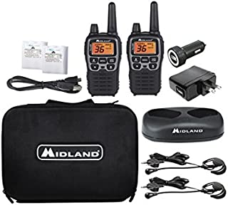 Midland – X-TALKER T77VP5, 36 Channel FRS Two-Way Radio – Up to 38 Mile Range..