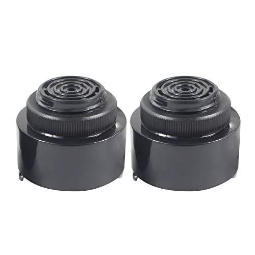Lowest Price! BNYZWOT Continuous Beep Alarm Electronic Piezo Buzzer Sounder DC 3-24V 85DB 2Pcs