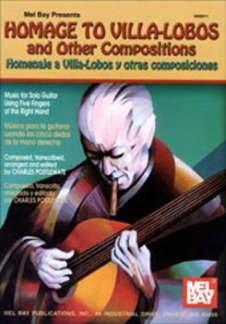 HOMAGE TO VILLA LOBOS AND OTHER COMPOSITIONS - arrangiert für Gitarre [Noten / Sheetmusic] Komponist: POSTLEWATE CHARLES