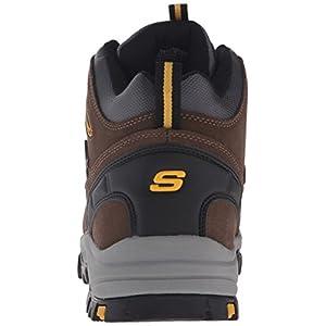 Skechers Men's Relment Pelmo Chukka Boot,Khaki,12 M US