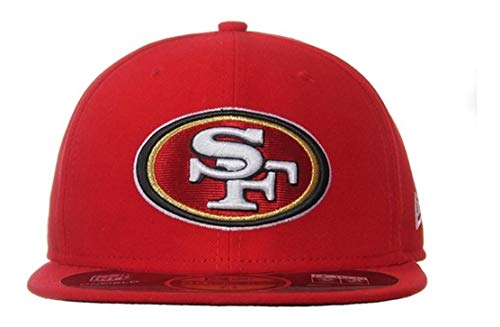 Gorra New Era Unisex Rojo Mx Nfl On Field 49ers 10622910 (CH)