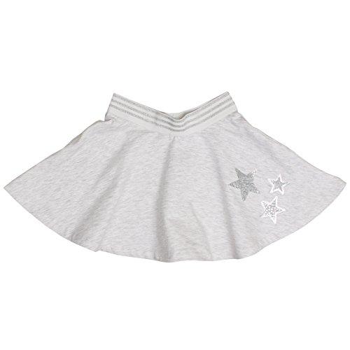 Salt & Pepper Mädchen Skirt Lucky me Rock, Grau (Light Grey 201), 92 (Herstellergröße: 92/98)