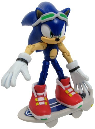 Sonic Free Riders The Hedgehog Action Figure by