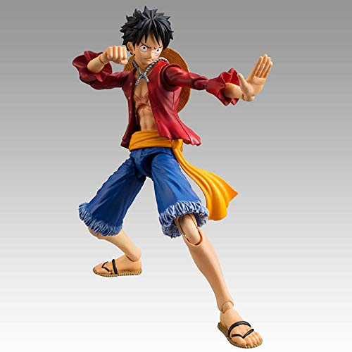 QHYZRV Anime One Piece 2 Years Later Luffy Articulated Premium Edition Decoration Model Model Toy Doll Gift Statue Sculpture Height 18cm (7in)