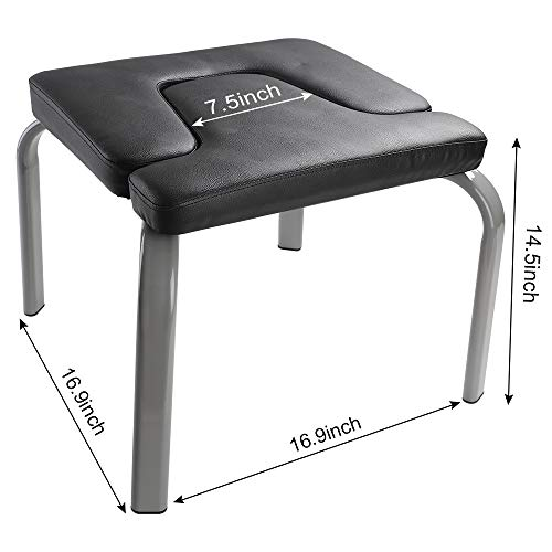 WV WONDER VIEW WonderView Yoga Headstand Bench, Yoga Inversion Bench Idea for Workout, Fitness and Gym