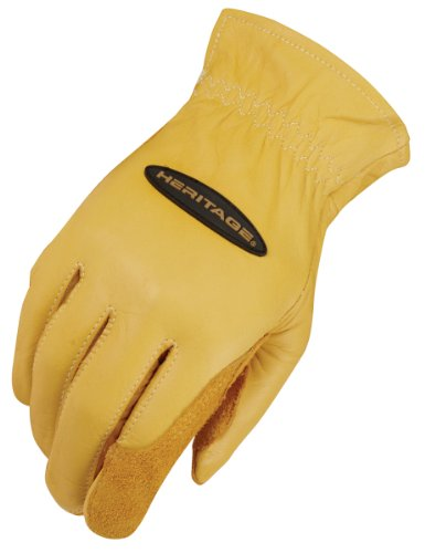 Heritage Ranch Work Gloves, Size 9, Tan