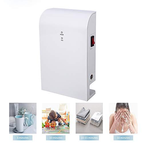 Qiumi generador de ozono para Agua Potable 0.2-1.0 PPM Usado en Grifo/Lavadora Fácil de Usar, no se Necesita Piedra de Chorro de Gas